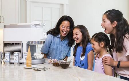 Esta es ColdSnap, una máquina de hacer helados, cócteles y granizados instantáneos a base de cápsulas