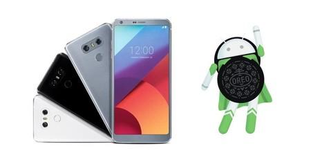 Los LG G6 actualizan a Android 8.0 Oreo en España