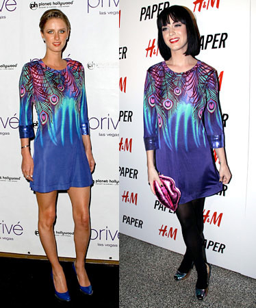 Vestido de Matthew Williamson para H&M: ¿Katy o Nicky?