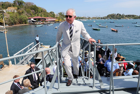 The Prince Of Wales Caribbean Tour