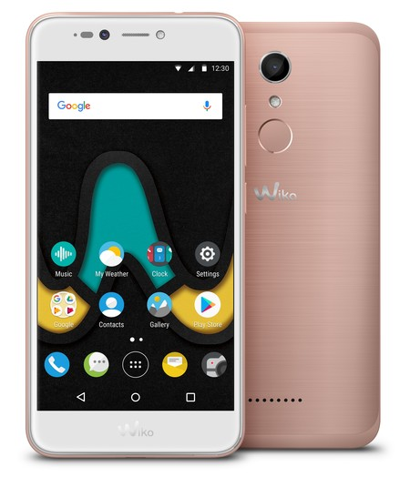 Wiko U Pulse Rose Gold Compo Mwc2017