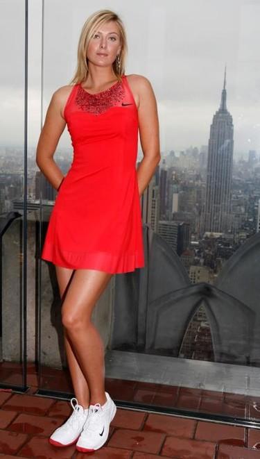 Así vestirá Maria Sharapova en el US Open