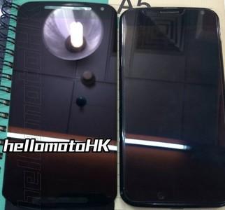 Moto X+1 muestra su panel frontal y sus especificaciones téncicas