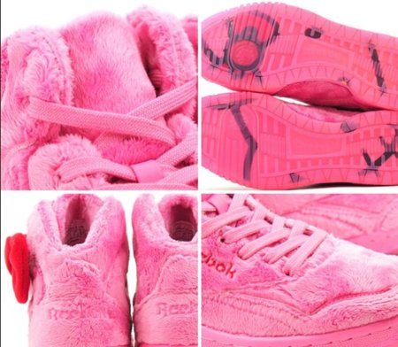 Zapatillas Reebok Classic Plush Kitty por Hello Kitty