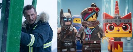 Las nuevas películas de Lego y Liam Neeson decepcionan en taquilla
