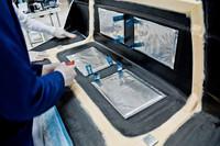Volvo desarrolla baterías que están incrustadas en la carrocería del auto