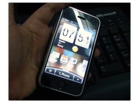 La interfaz HTC Sense en el iPhone