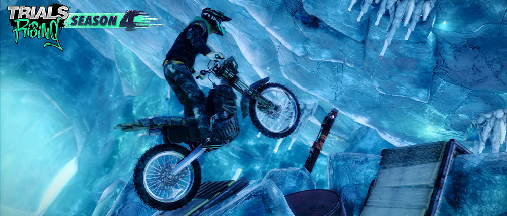 Trials Rising se amplía con cinco gélidos circuitos más gracias al pack Polar Expedition Track