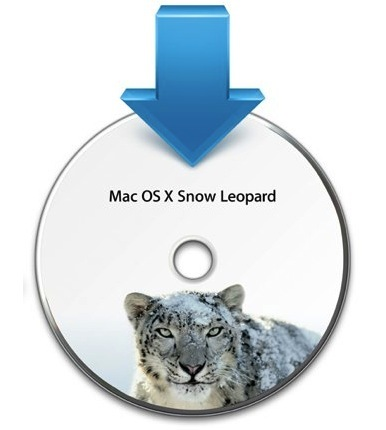 apple macosx snow leopard instalacion icono