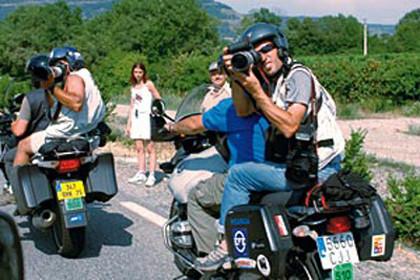 Las motos del Tour de Francia