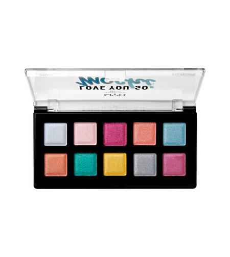 Nyx Professional Makeup Love You So Mochi Paleta De Sombras De Ojos Lysmsp01 Electric Pastels 2 35114