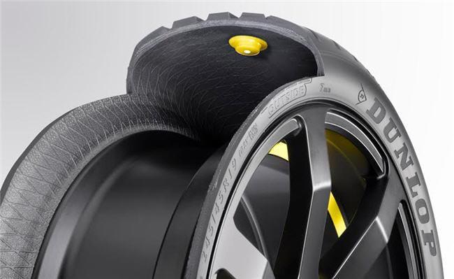 Ahora hasta los neumáticos pueden ser inteligentes: lo dice Dunlop