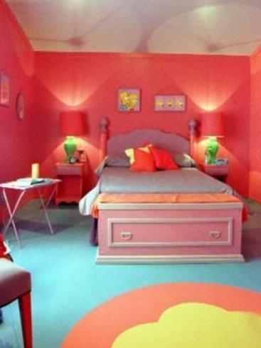 Casas poco convencionales la casa de los simpson es real for Dormitorio animado