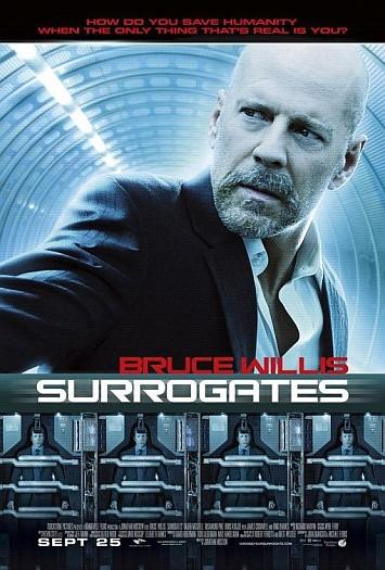 'Surrogates' con Bruce Willis, cartel