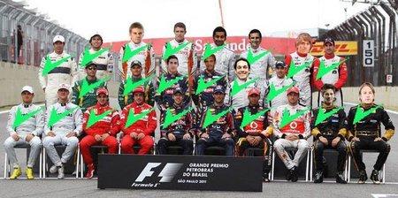 Así está la parrilla 2012 de Fórmula 1