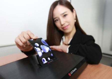 LG también dice estar preparando su teléfono con pantalla flexible para este mes