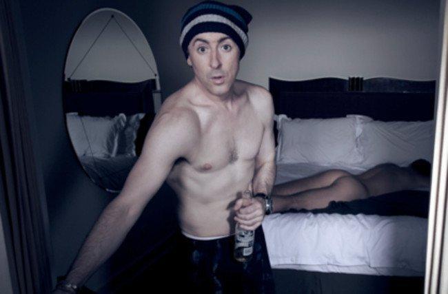 Alan Cumming desnudo