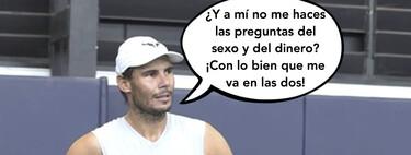 El pelotazo de Rafa Nadal sobre Federer que ha puesto del 'revés' a David Broncano en 'La Resistencia'