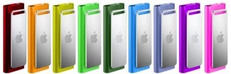 Consigue tu iPod shuffle 3G en varios colores diferentes