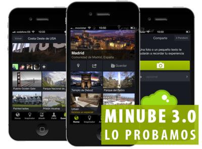 Minube 3.0 para iOS, lo probamos