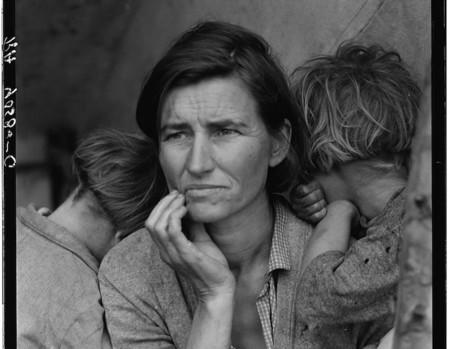 Por primera vez los rostros de la Gran Depresión en EE.UU. a través de 170.000 fotografías