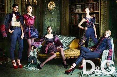 D&G, campaña Otoño-Invierno 2009/2010