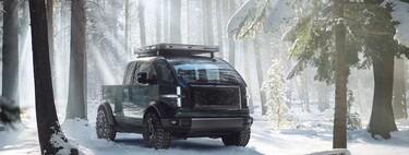 Canoo Electric Pickup, el futurista vehículo eléctrico modular que tiene en la mira al Tesla Cybertruck