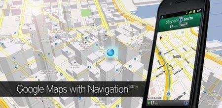 Actualización de Google Maps 5.10.0 para Android