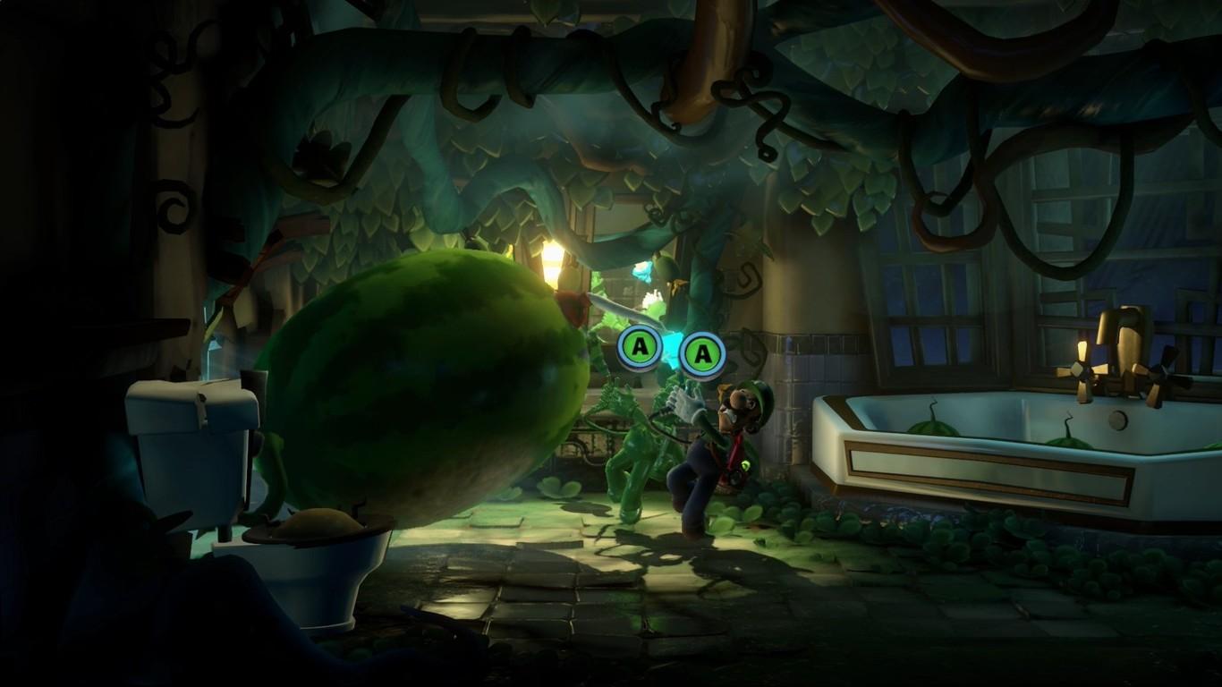 El hotel de Luigi's Mansion 3 se transforma en un bosque encantado en su nuevo gameplay de 30 minutos [GC...