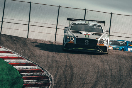 Andy Soucek Bentley Contiental GT3 Laguna Seca