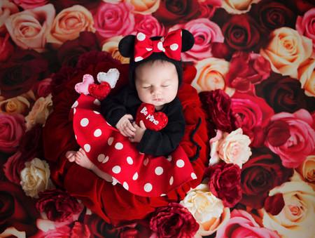 Sesion Fotos San Valentin Bebes Minnie Mickey 4