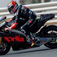 Prometedora puesta en largo de la nueva Aprilia RS-GP