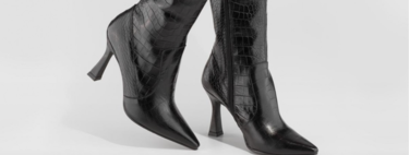 19 botas y botines negros en rebajas: un básico para siempre en los que merece la pena invertir