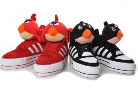 Zapatillas Adidas Angry Birds... Jeremy Scott lo hizo de nuevo
