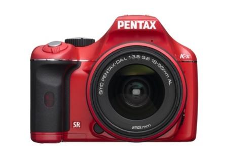 Pentax K-x llega con grabación de vídeo y casi 5 fotos por segundo