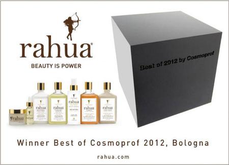 """Rahua, ganadora del Premio """"Best of 2012"""" en Cosmoprof por sus productos capilares"""