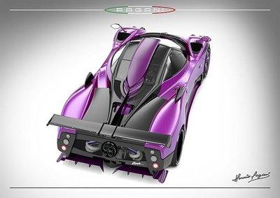 Pagani Zonda 750, colores únicos para una edición única
