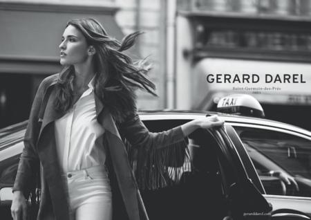 Gerard Darel ha fotografiado su nueva campaña como si fuese el trabajo de un paparazzo