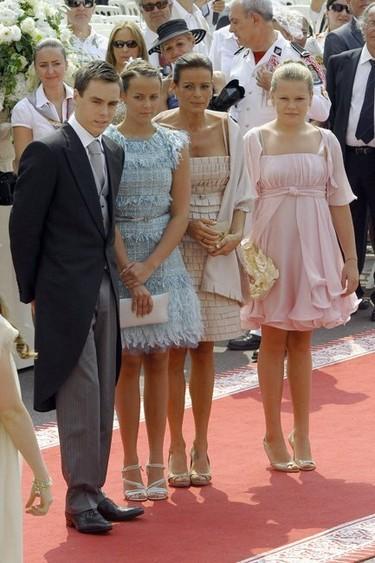 Ay que ver qué monos se van de boda los de la familia real monegasca