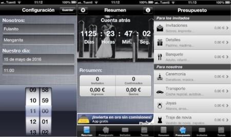 MyWedding, organiza todos los detalles de tu boda desde el iPhone