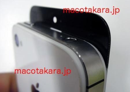 El supuesto panel frontal del iPhone5 se deja ver en vídeo