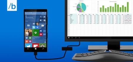Los teléfonos con Continuum podrían ejecutar apps tradicionales de escritorio algún día