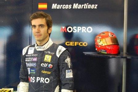 Marcos Martínez renueva con Pons Racing
