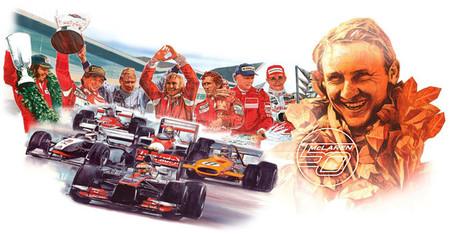McLaren celebra su 50 aniversario
