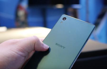 Sony Xperia Z5 trasera