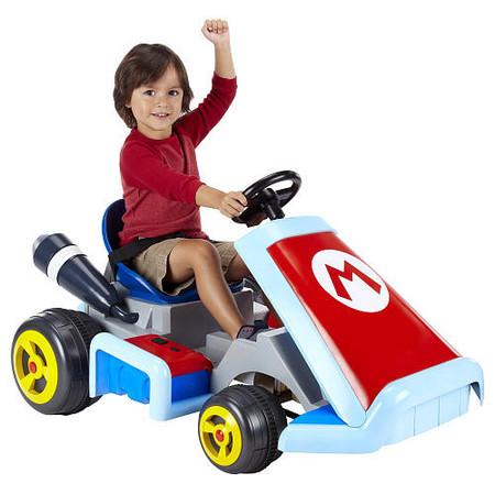 Tu hijo ya puede disfrutar del coche del juego Super Mario Kart a tamaño real