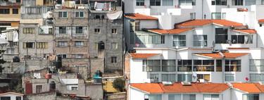 Estas esclarecedoras fotografías aéreas nos recuerdan la desigualdad que se vive en México