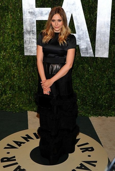 Elizabeth Olsen Vanity Fair party