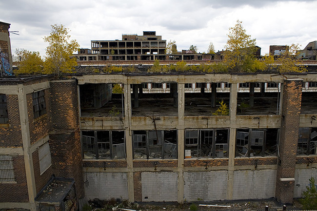 Packard Assembly Plant Detroit Michigan Usa
