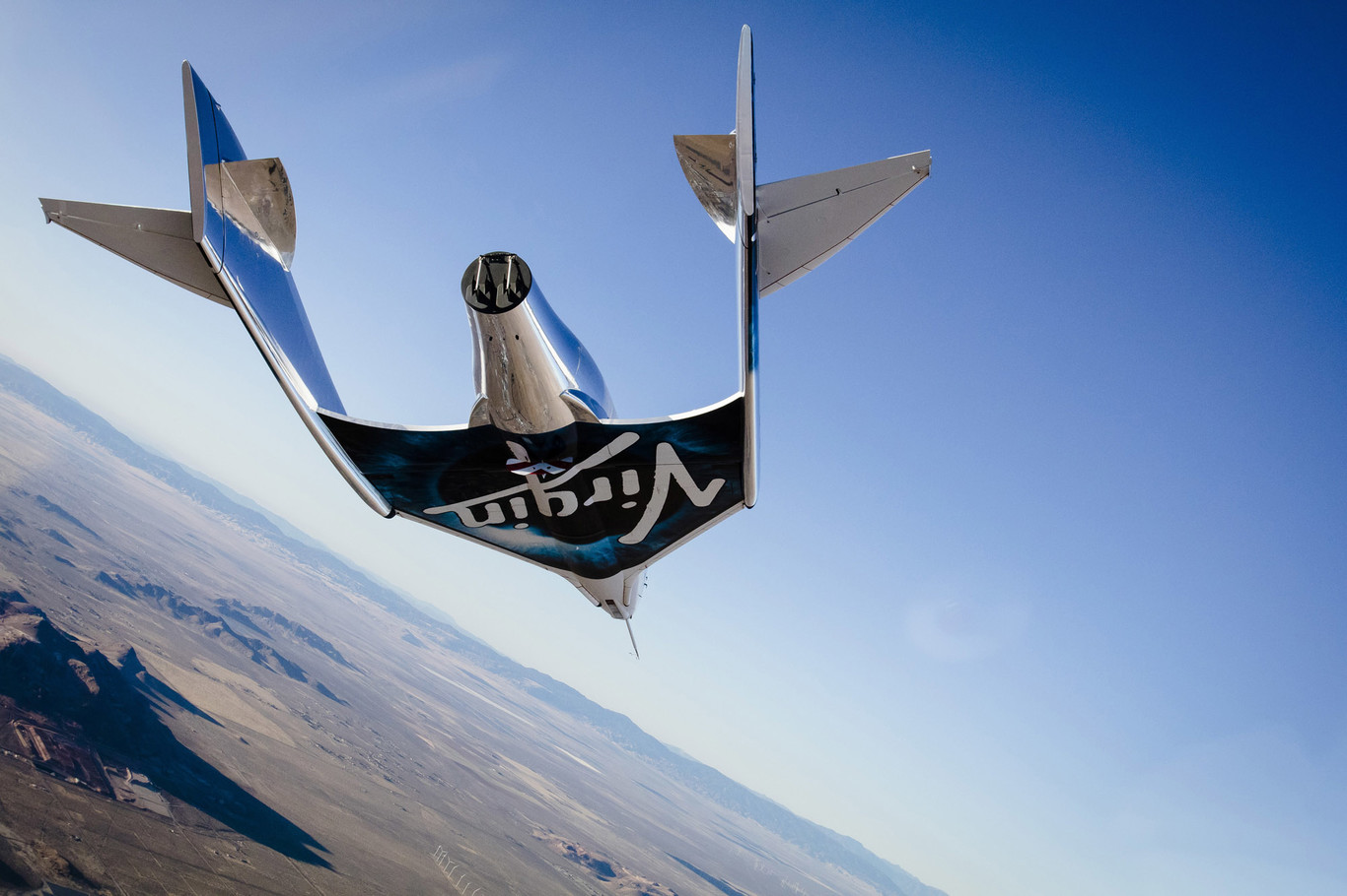 El avión espacial de Virgin Galactic alcanza la mesosfera por primera vez: el espacio cada vez más cerca